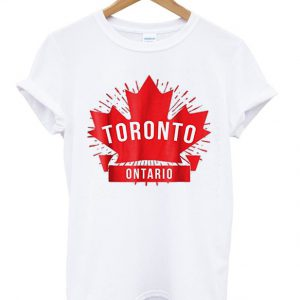 toronto ontario t-shirt