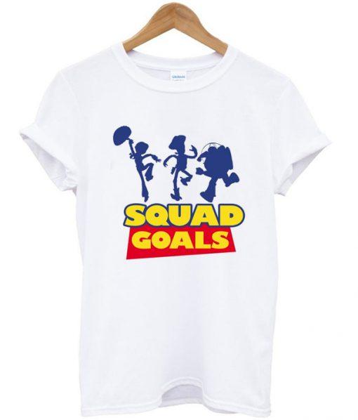 toy story squad goals t-shirt