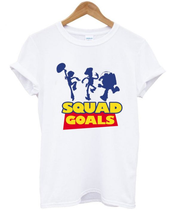 toy story squad goals t-shirt