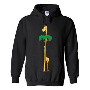 tree or giraffe hoodie