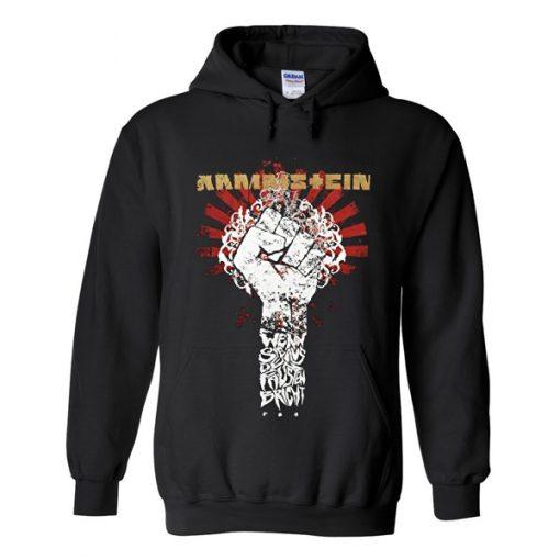 rammstein hand hoodie