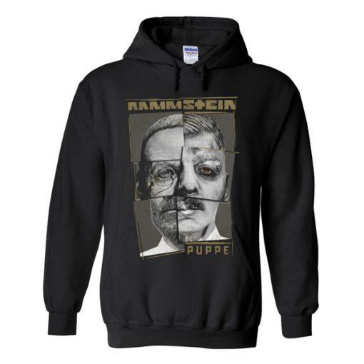 rammstein puppe hoodie