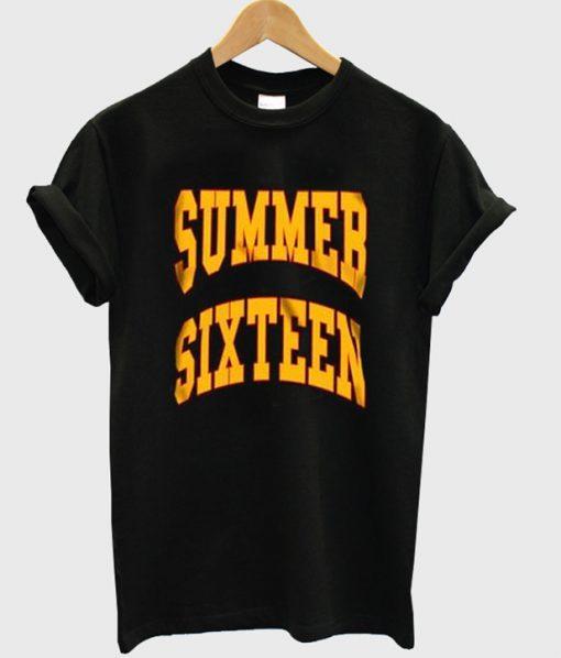 summer sixteen t-shirt