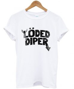 loded diper t-shirt