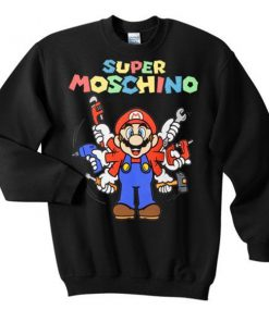 super moschino sweatshirt