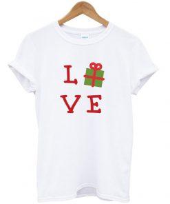 love christmas gift t-shirt