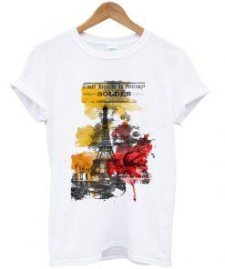 one night in paris t-shirt