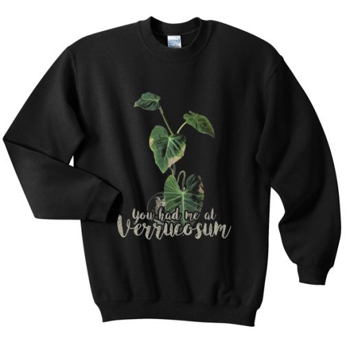 you had me at verrucosum sweatshirt