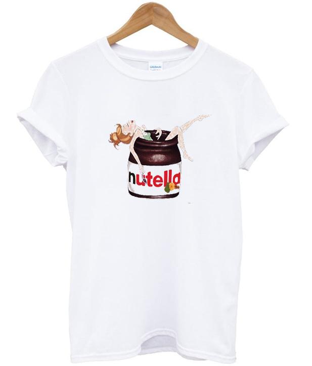 nutella girl t-shirt