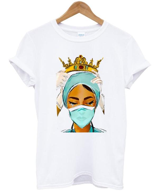 nurses doctors wear crown t-shirt