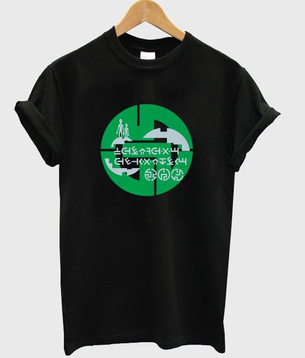 alien code t-shirt