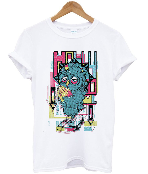 holly owl t-shirt