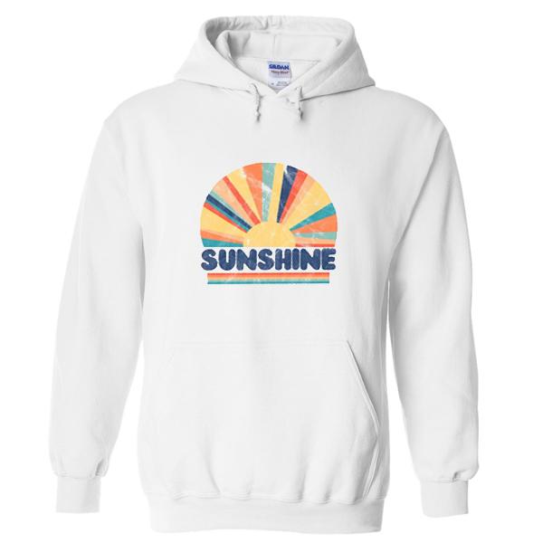 retro sunshine hoodie