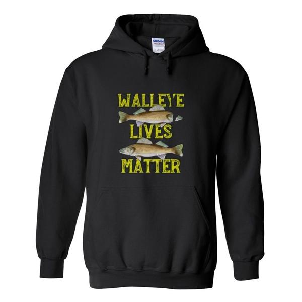 walleye lives matter hoodie