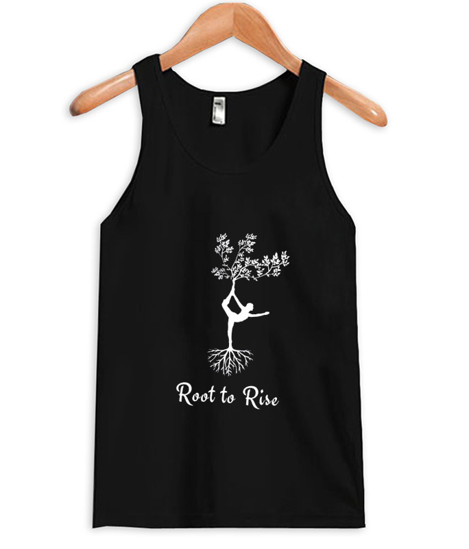 root to rise tank top